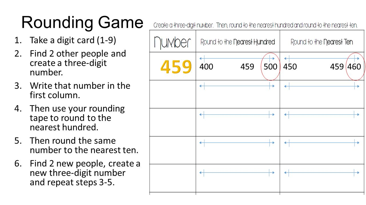 worksheet Rounding Tens And Hundreds rounding tens and hundreds measuring tape increments to the nearest ten hundred mafs3nbt ppt download slide 13 11585413 hundreds