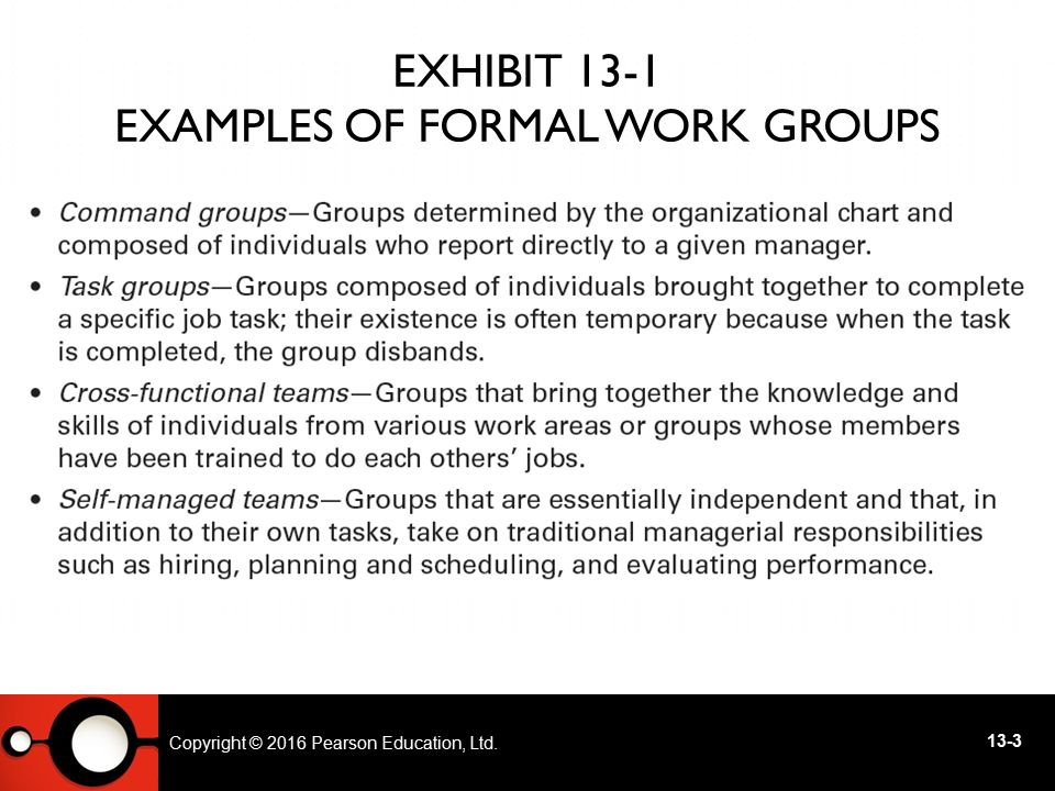 Copyright © 2014 Pearson Education, Ltd GROUP STRUCTURE (CONT.)  Group Processes – processes that go on within a work group determines group performance and satisfaction.