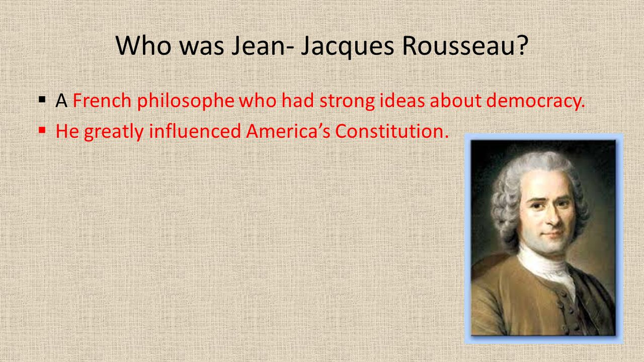 a critique of jean jacques rousseaus enlightenment John locke and jean-jacques rousseau are the best known and locke's views of the social contract c jean-jacques rousseau critique, that of carole.