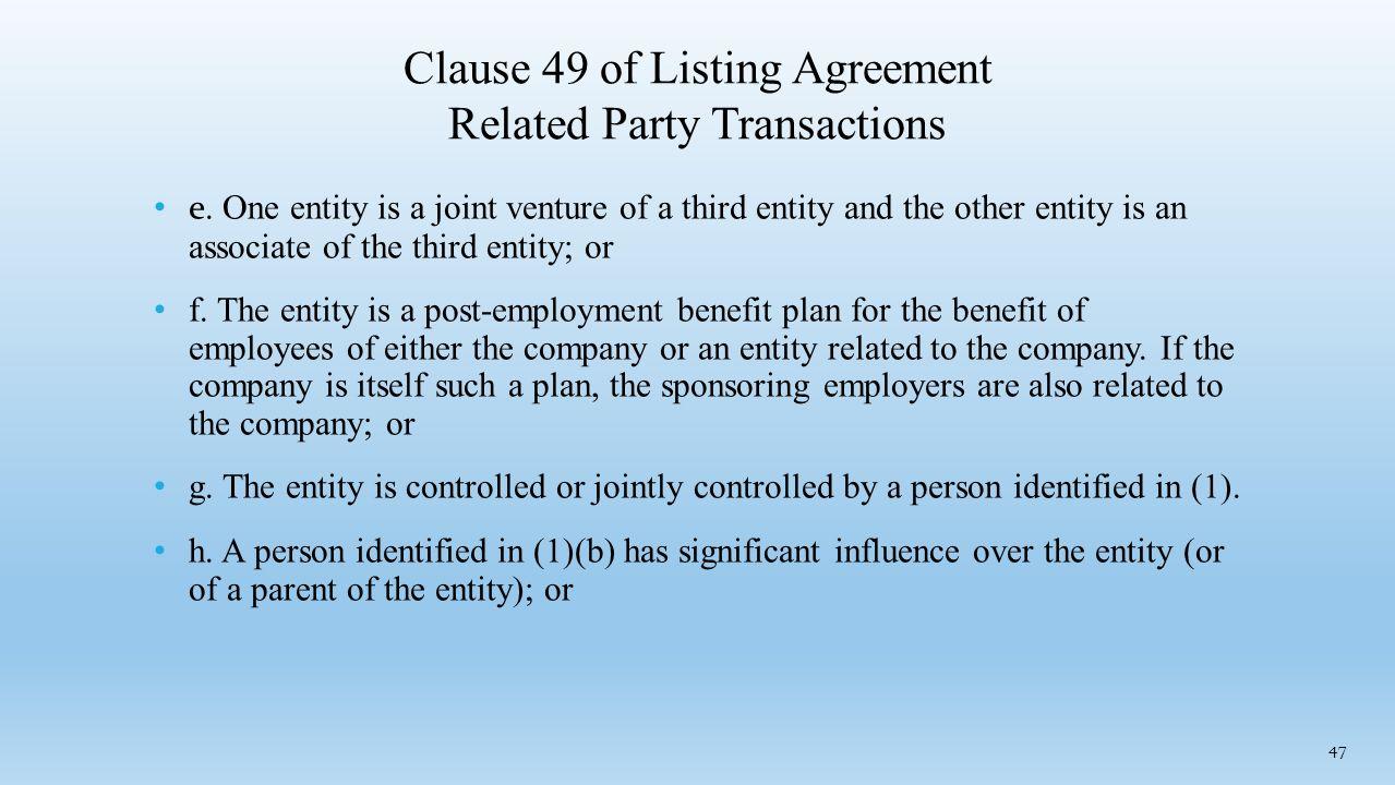 Related party transactions cs vinayak s khanvalkar partner kanj 47 clause platinumwayz