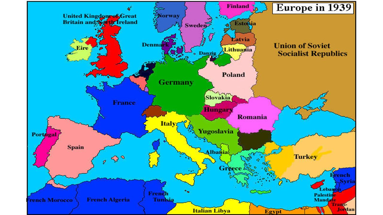Maps Of WWII Interactive Maps European Theater Of War Https - Youtube germany map