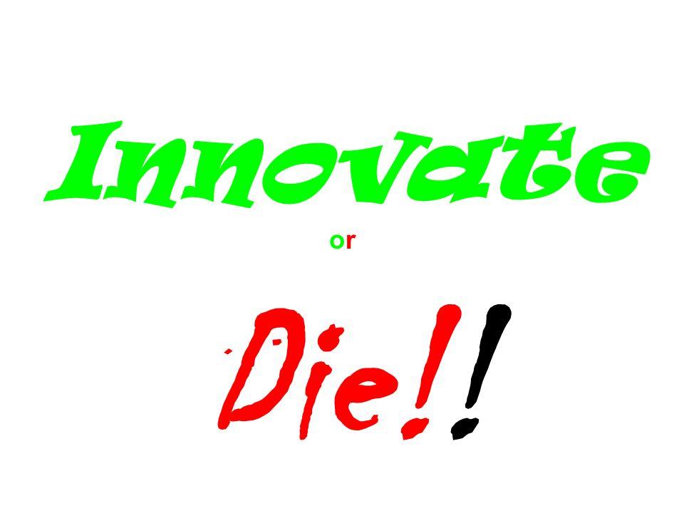 Innovate or Die!!