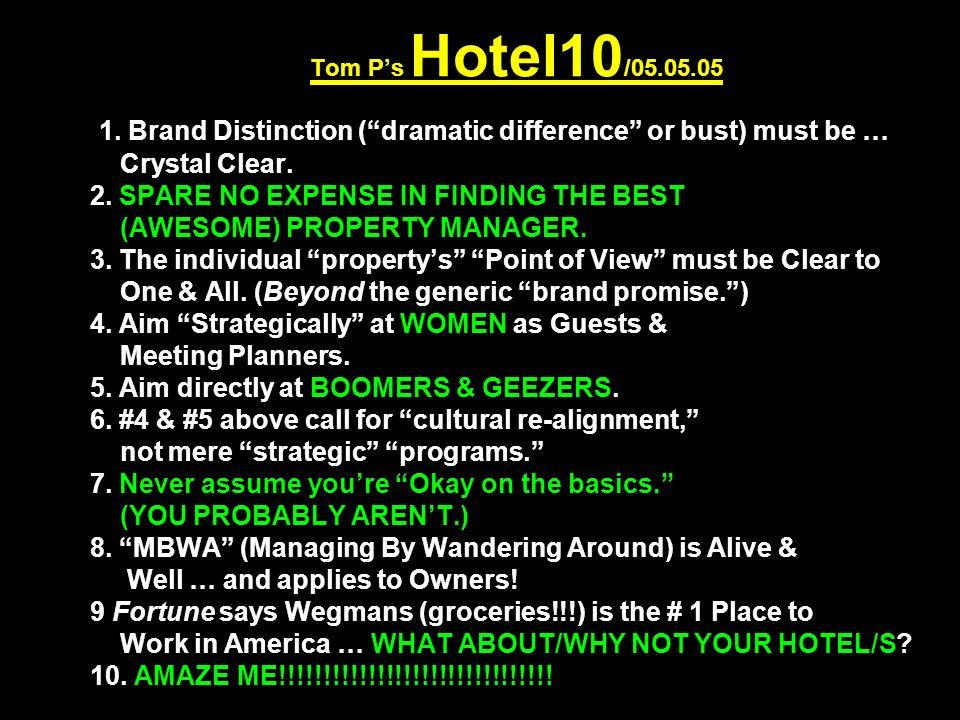 Tom P's Hotel10 /05.05.05 1.