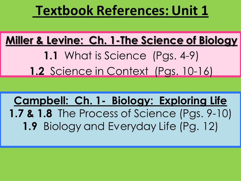 unit 1 lab 1 the scientific