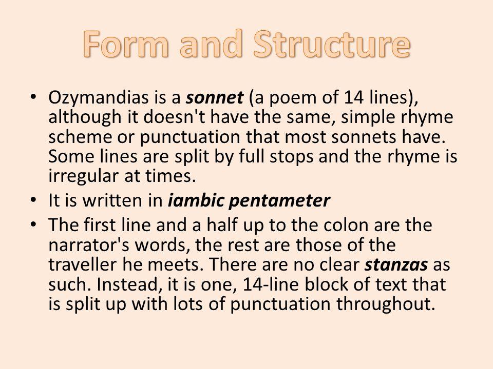 essay ozymandias