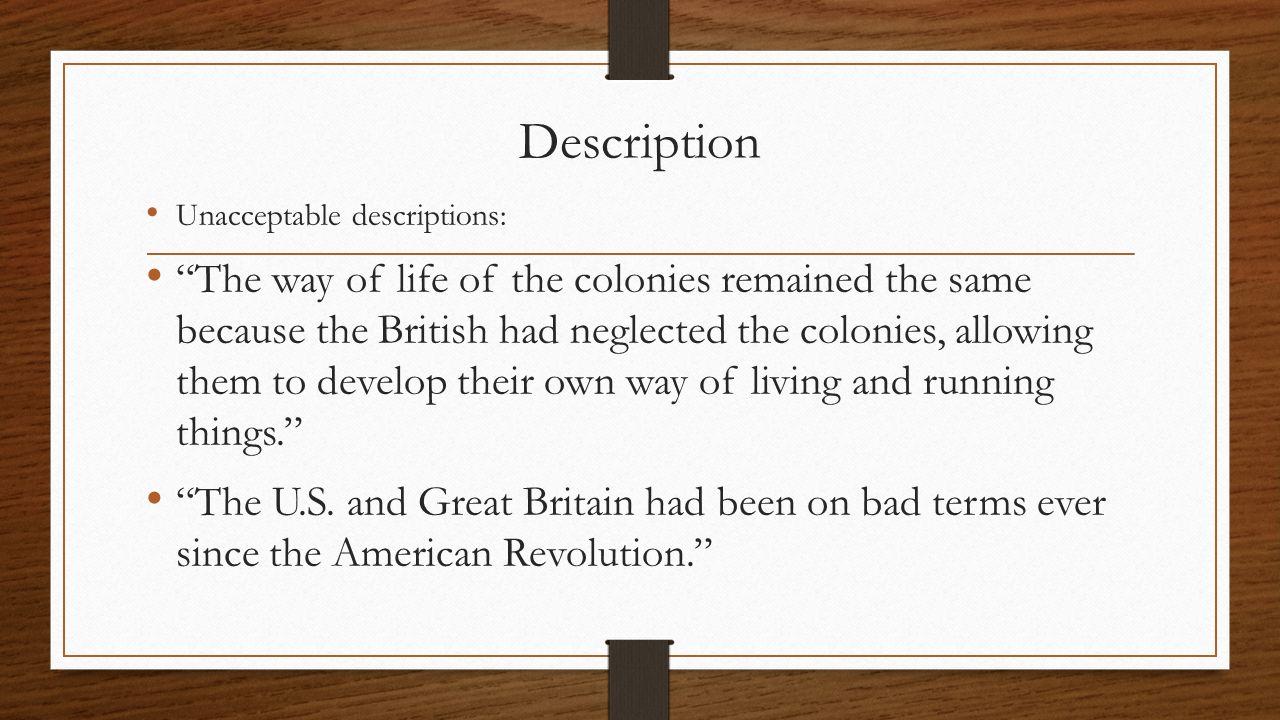 apush american revolution essay