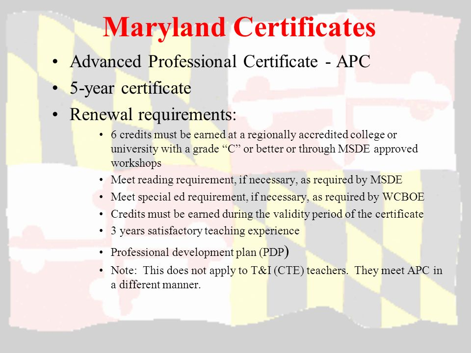 Maryland Teaching Certification Become a teacher in MD 8259896 ...