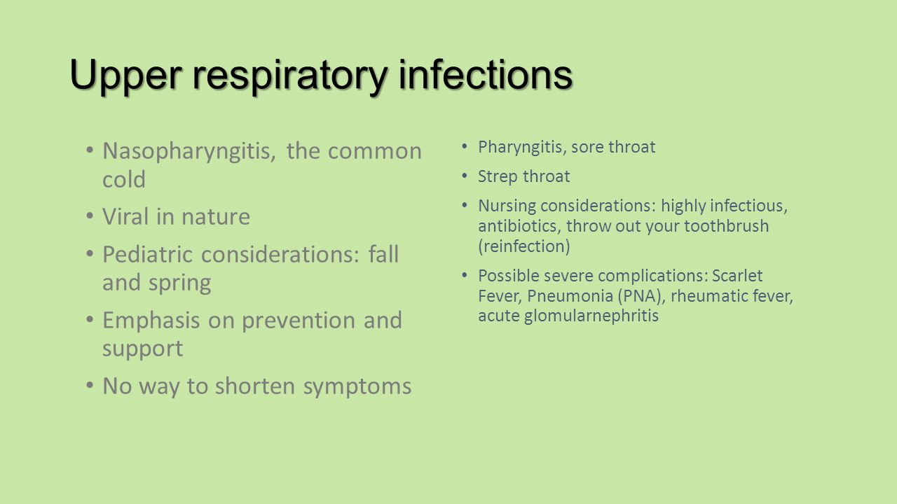 Approaches to common pediatric disease and injury an emergency room 20 upper respiratory geenschuldenfo Gallery