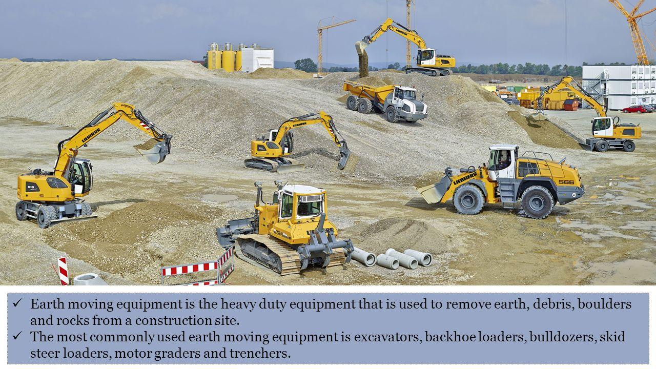 earth moving equipment essay
