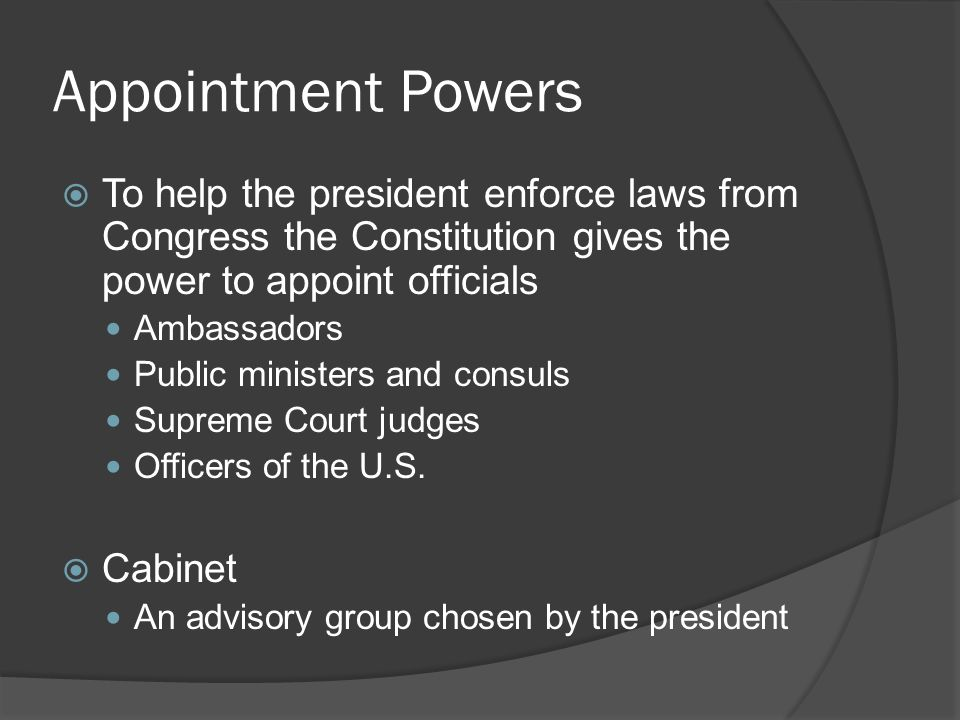 Chapter 7. Presidential Qualifications and Terms of Office ...