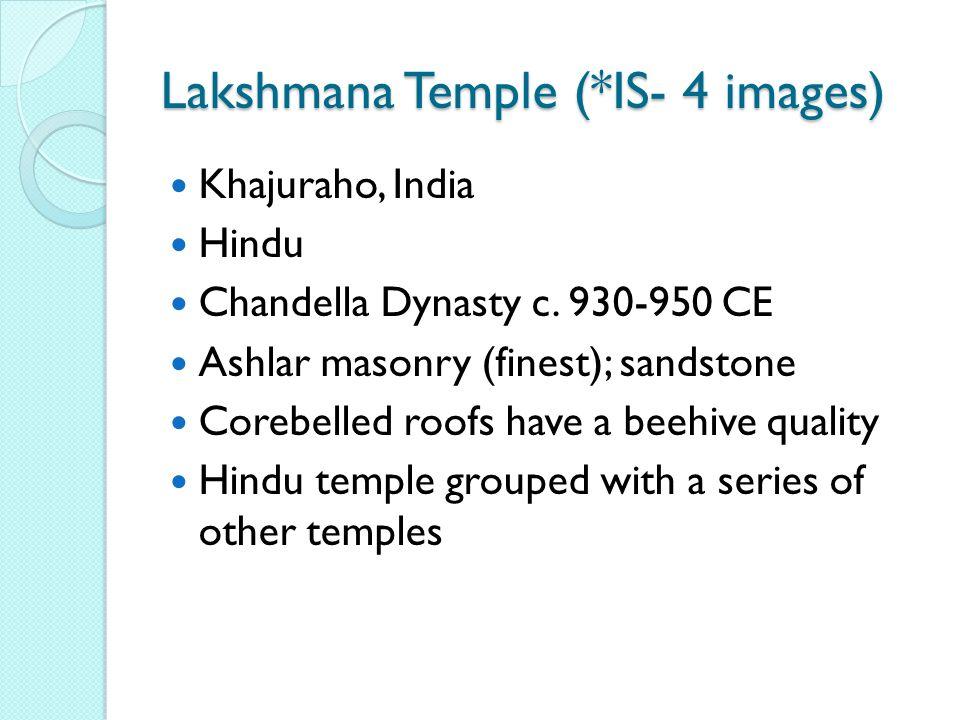 Khajuraho, India Hindu Chandella Dynasty c.