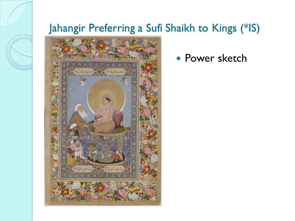 Jahangir Preferring a Sufi Shaikh to Kings (*IS) Power sketch
