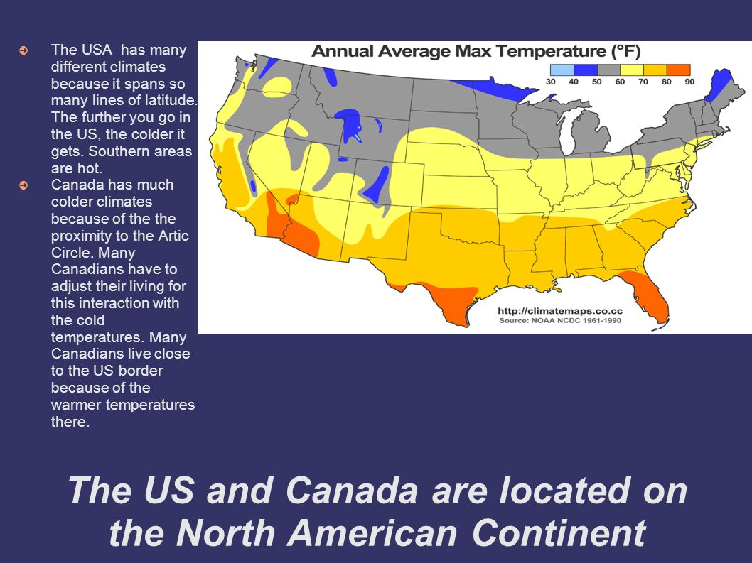 World Geography Ch TEST REVIEW The US And Canada Are - In which continent is usa located