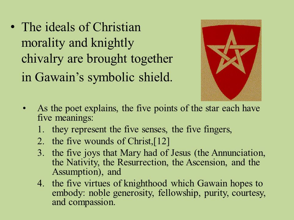 the demonstration of chivalry in sir gawain and the green knight How can the answer be improved.