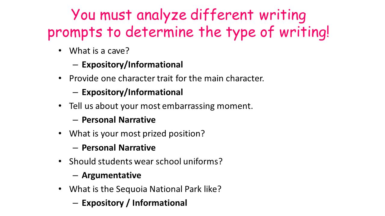 differnt types of writing Check your understanding of different types of writing styles with an interactive quiz and printable worksheet these practice questions will help.