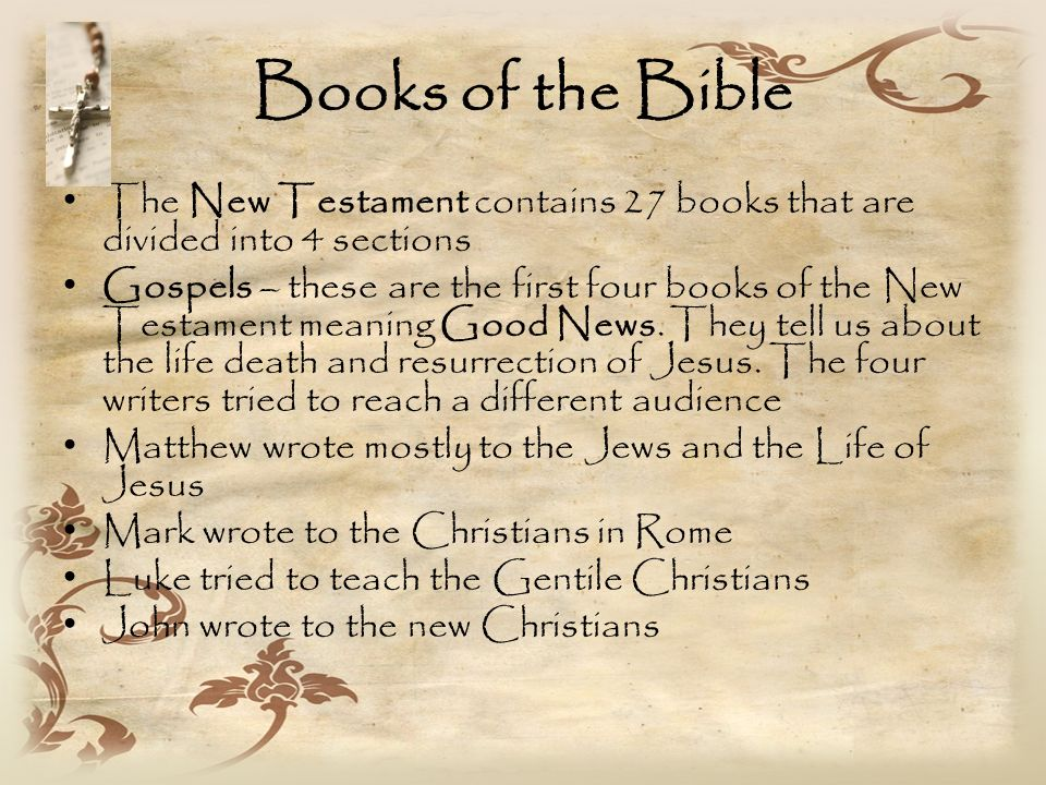 Which Book Of The Bible Written First