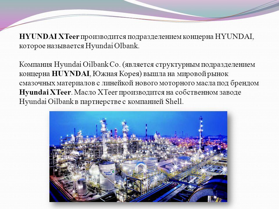 HYUNDAI XTeer производится подразделением концерна HYUNDAI, которое называется Hyundai Olbank.