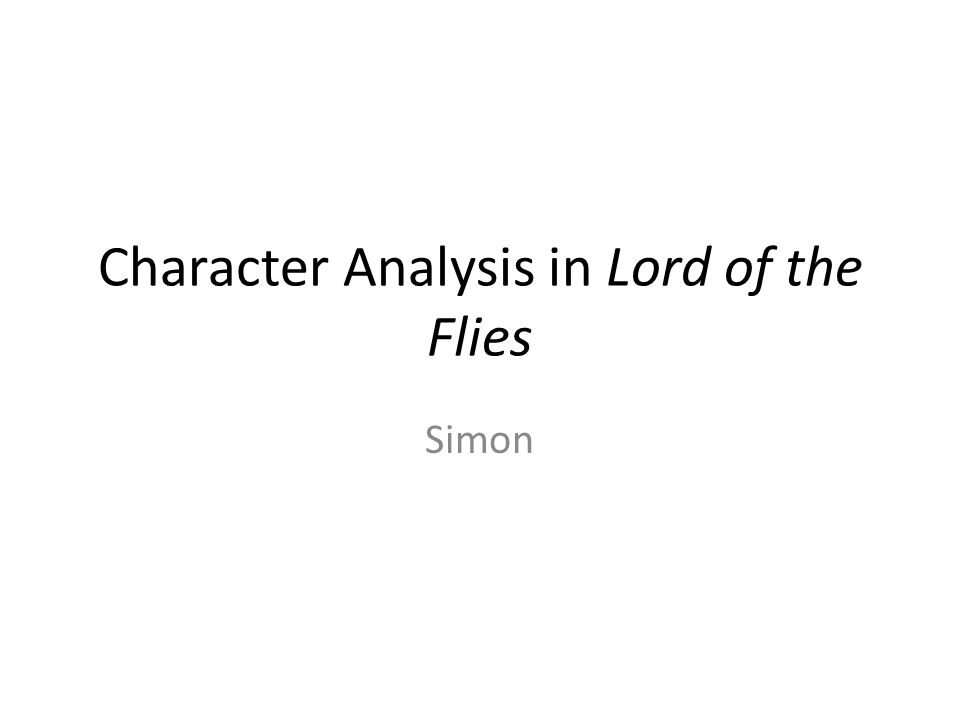 lord of the flies symbolism analysis essay Themes, symbolism, and analysis of william golding's lord of the flies.