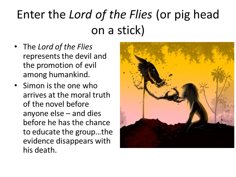 an analysis of the topic of the stereotyping and the concept of the lord of the flies by william gol Essay religious persecution: an underlying theme in the lord of the flies like many excellent works, william golding's novel, the lord of the flies can be read on many different levels.
