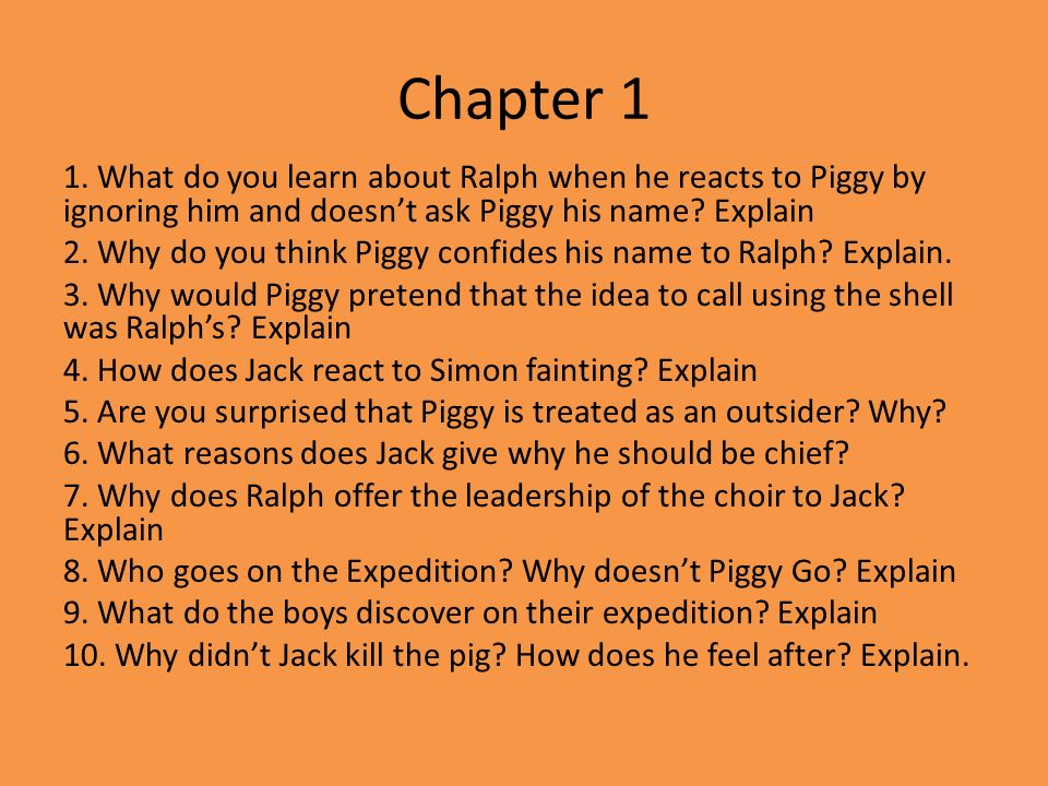 lord of the flies chapters 10 12