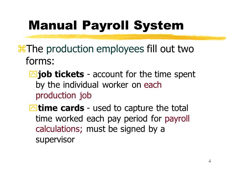 payroll process manual