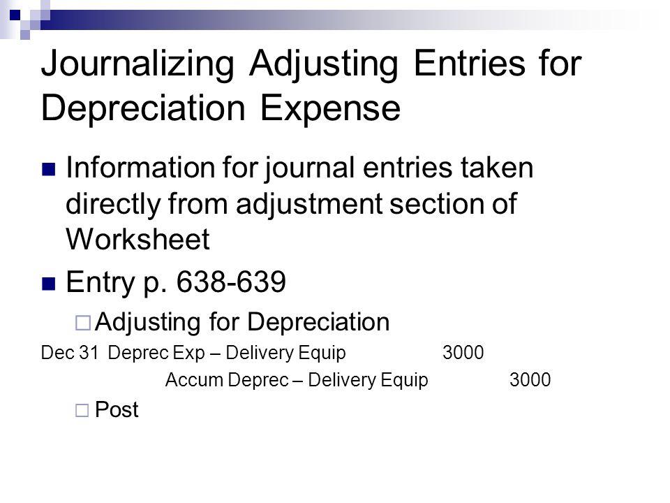Chapter 23 Plant Assets Depreciation Section 1 Plant Asset – Depreciation Worksheet