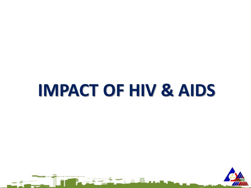 IMPACT OF HIV & AIDS