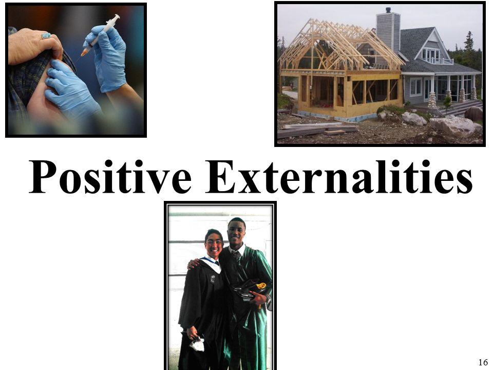 Positive Externalities 16