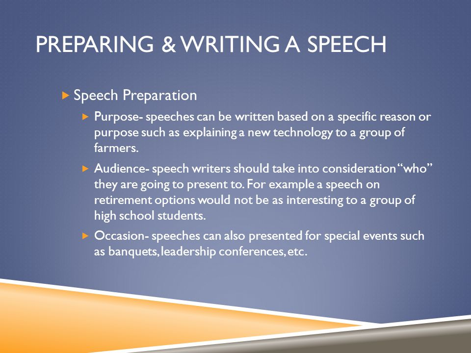 Public Speaking. Types Of Speeches  Informative- Provide