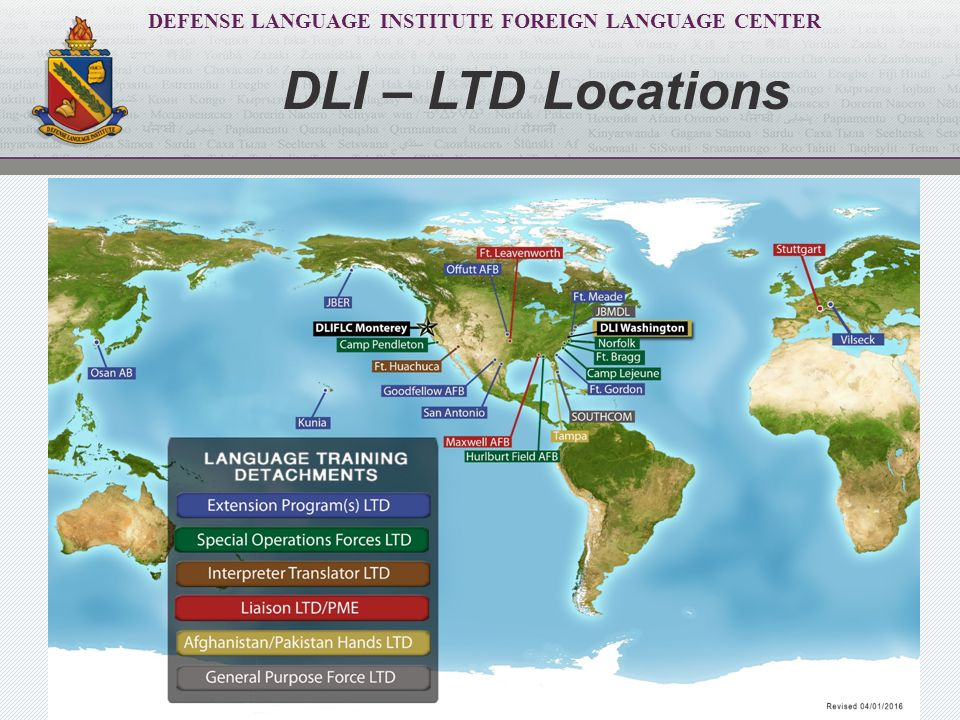 Employment  Defense Language Institute Foreign Language
