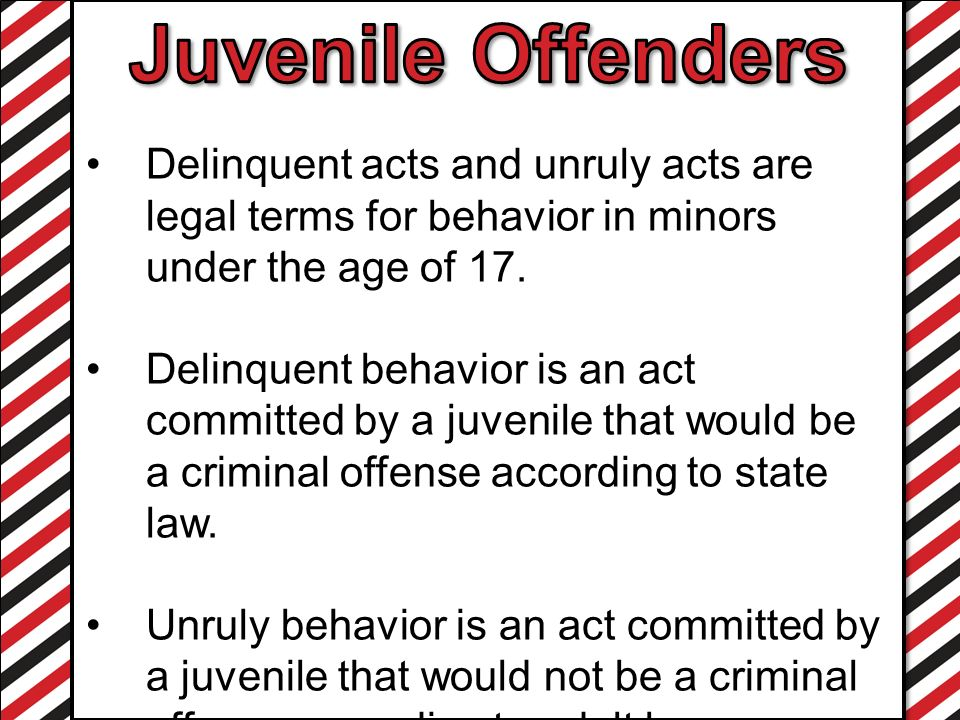 delinquent behavior An example of delinquent behavior is robbing a store an example of delinquent is a credit card payment that should have been paid several months earlier.