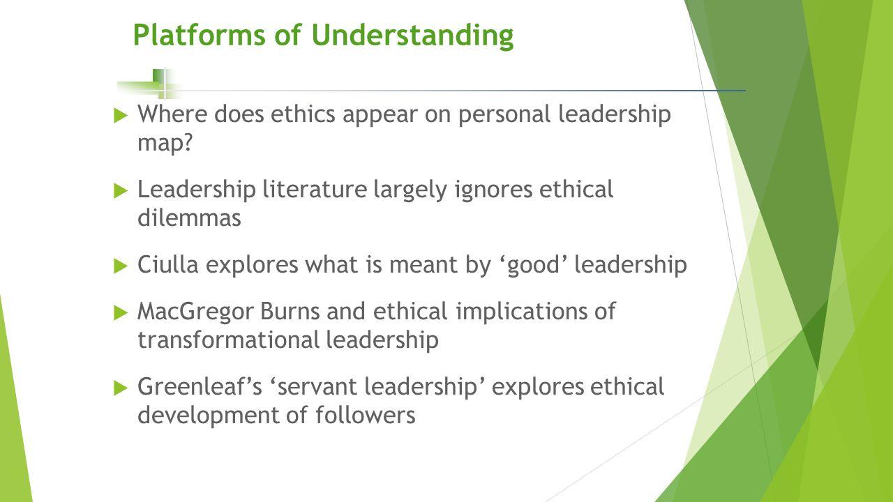 personal leadership platform