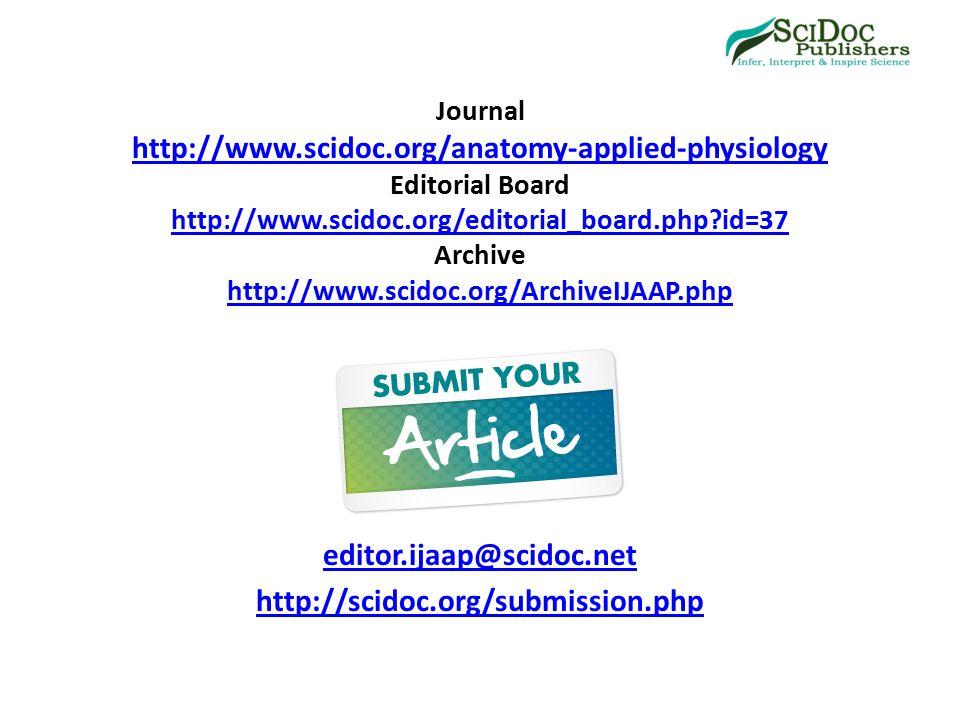 Großzügig Anatomy And Physiology Journal Galerie - Menschliche ...