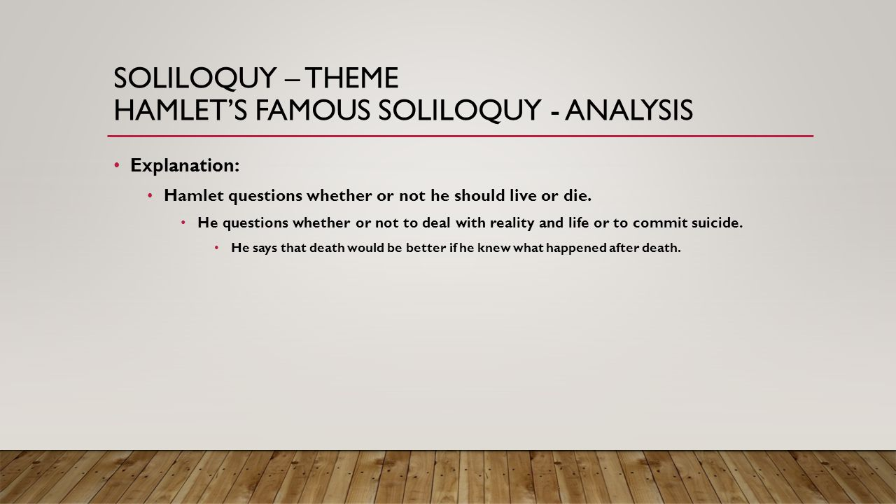 hamlets soliloquy in act i