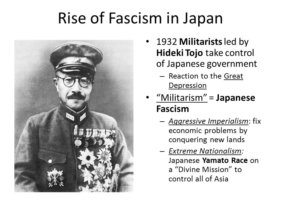 the rise of japanese militarism in the 1920s To what extent did the weakness of the japanese government in the 1920s contribute to the coming to power of the militarists in the early 1930s.