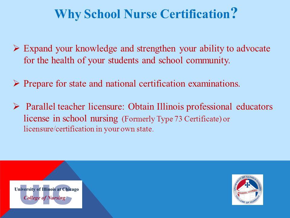why nursing school