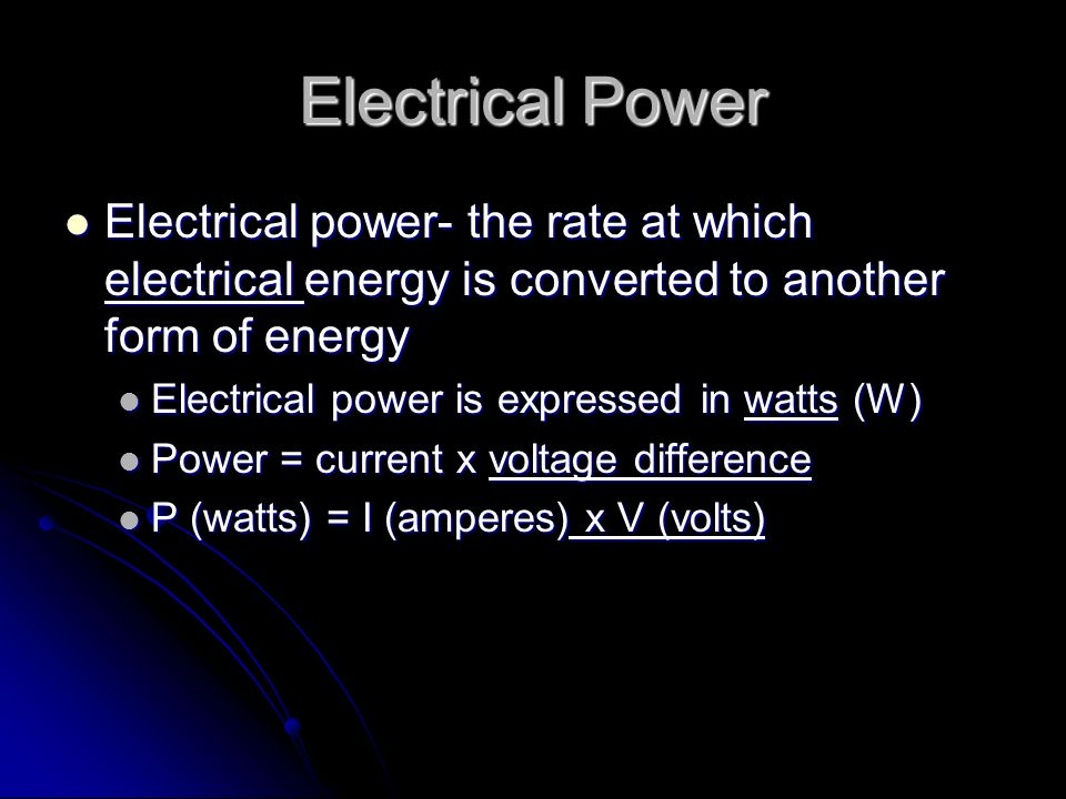 Electrical Circuits Section 7.3. Electrical Circuits Circuits rely ...