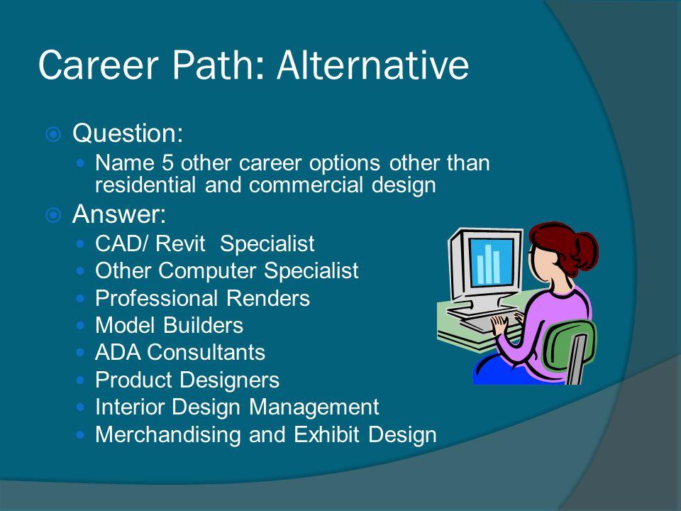 10 Career Path Alternative