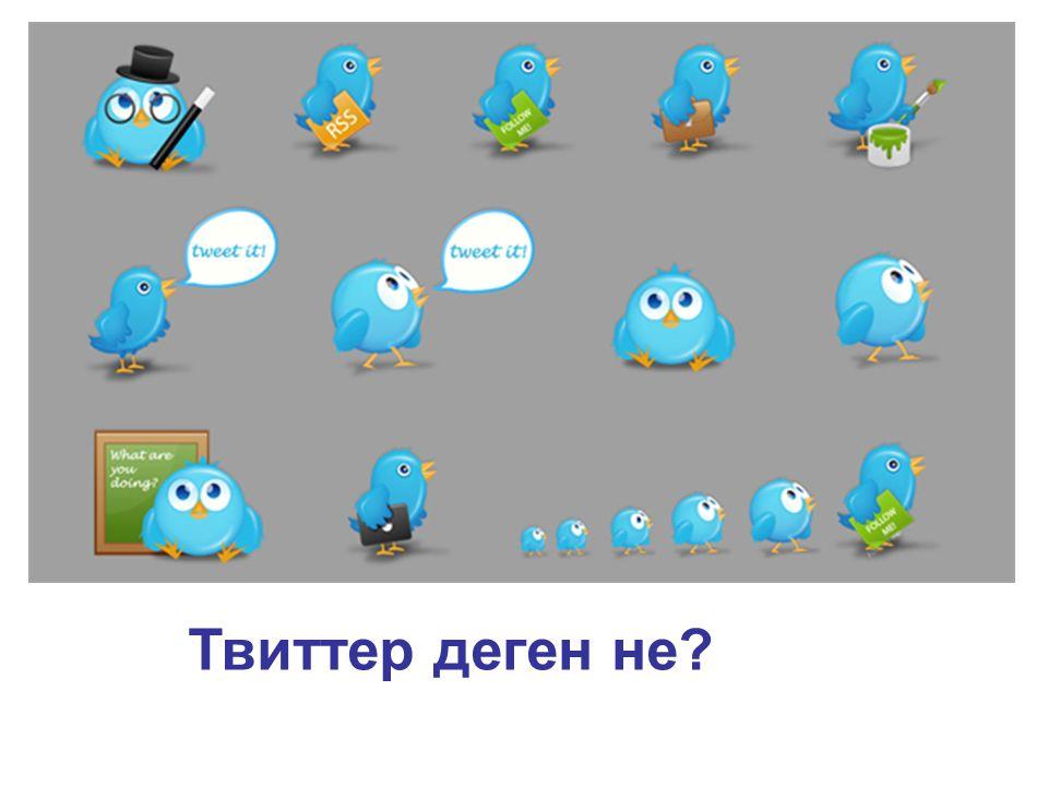 Твиттер деген не?