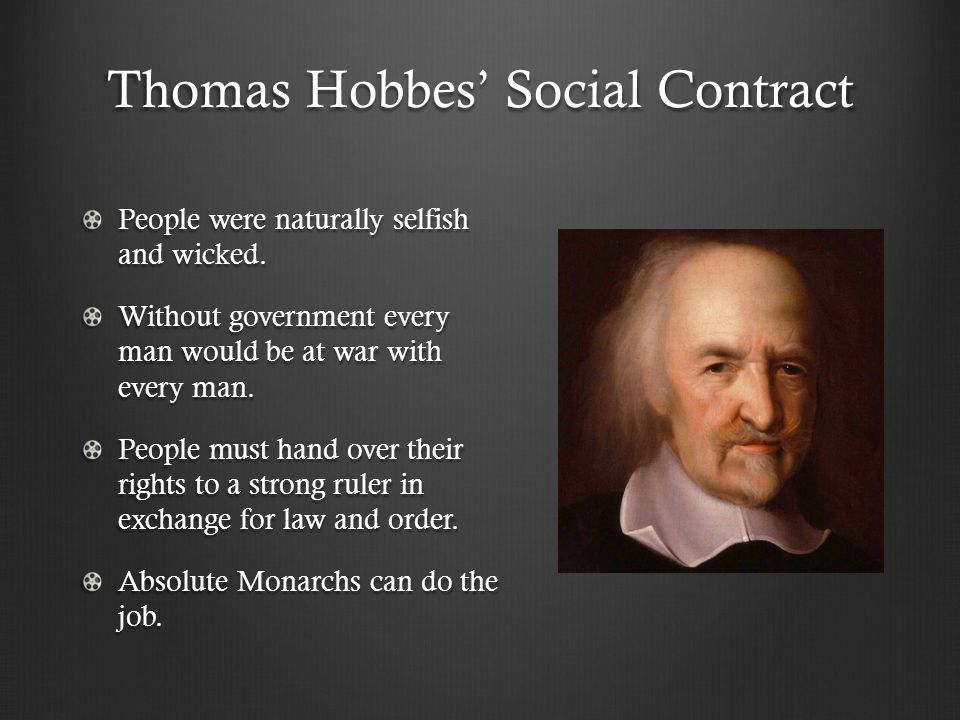Thomas Hobbes Social Contract Quotes Quickwrite The Scientific Revolution Brought About Change In The