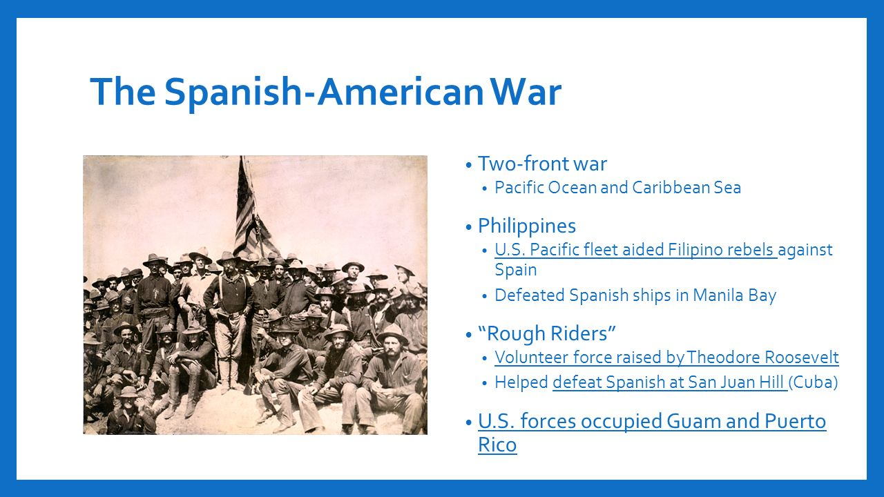 the truth about the spanish american war The spanish american war, a spanish only the press of republican or socialist orientation alerted the public about the truth of the military power of the united.