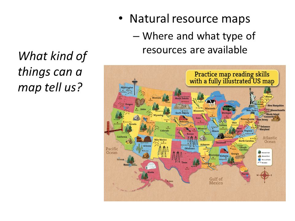 What Is Geography Geography Is A Field Of Science Dedicated To - Natural resources map of us