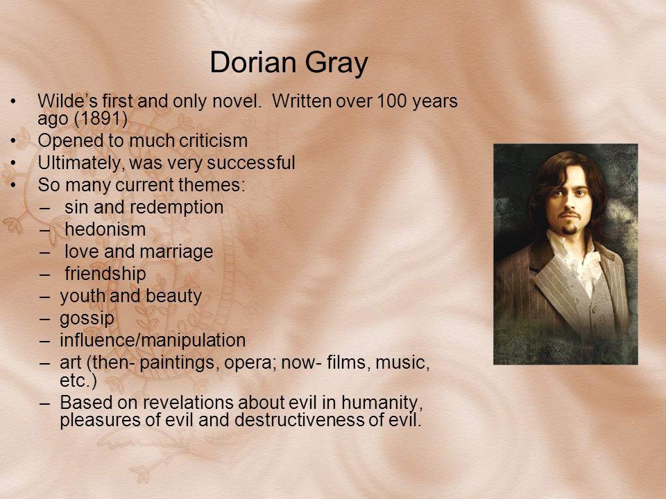 dorian gray hedonism essay