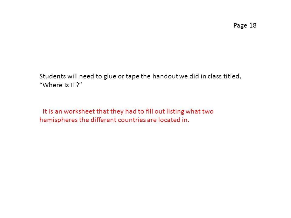 Page 16 How To Read A Map Article Three things I already knew – How to Read a Map Worksheet