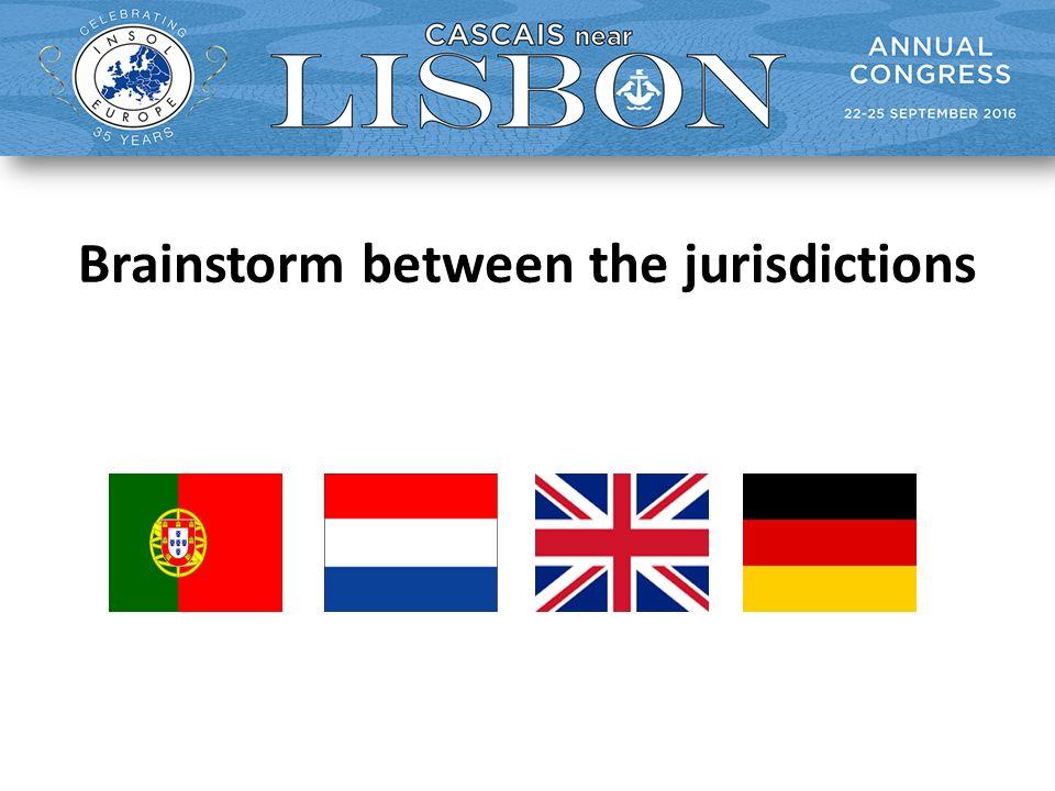 Brainstorm between the jurisdictions
