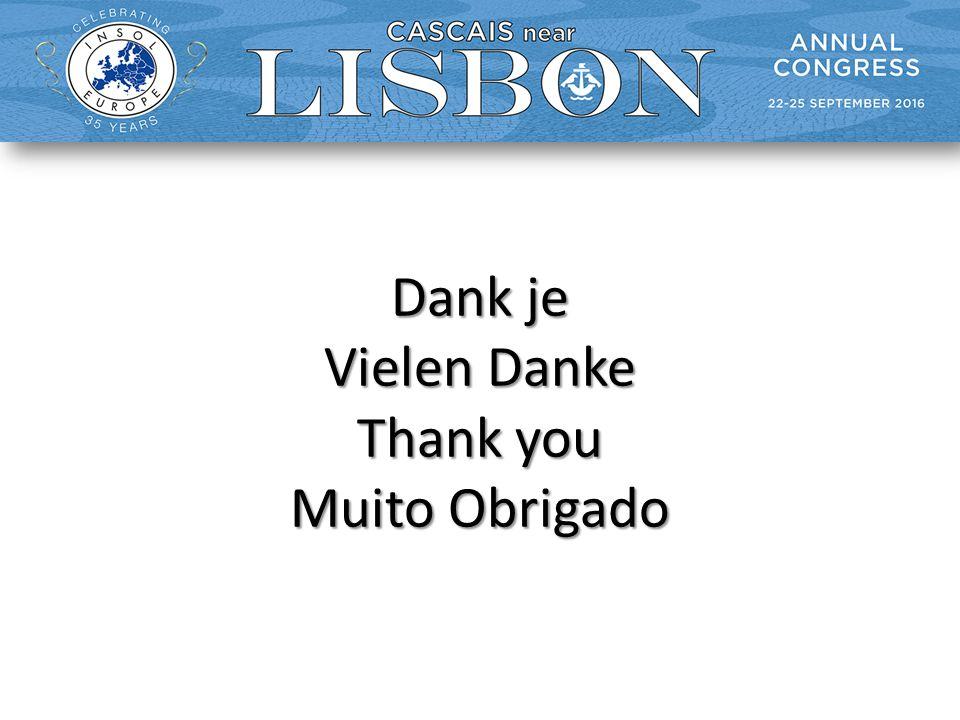 Dank je Vielen Danke Thank you Muito Obrigado