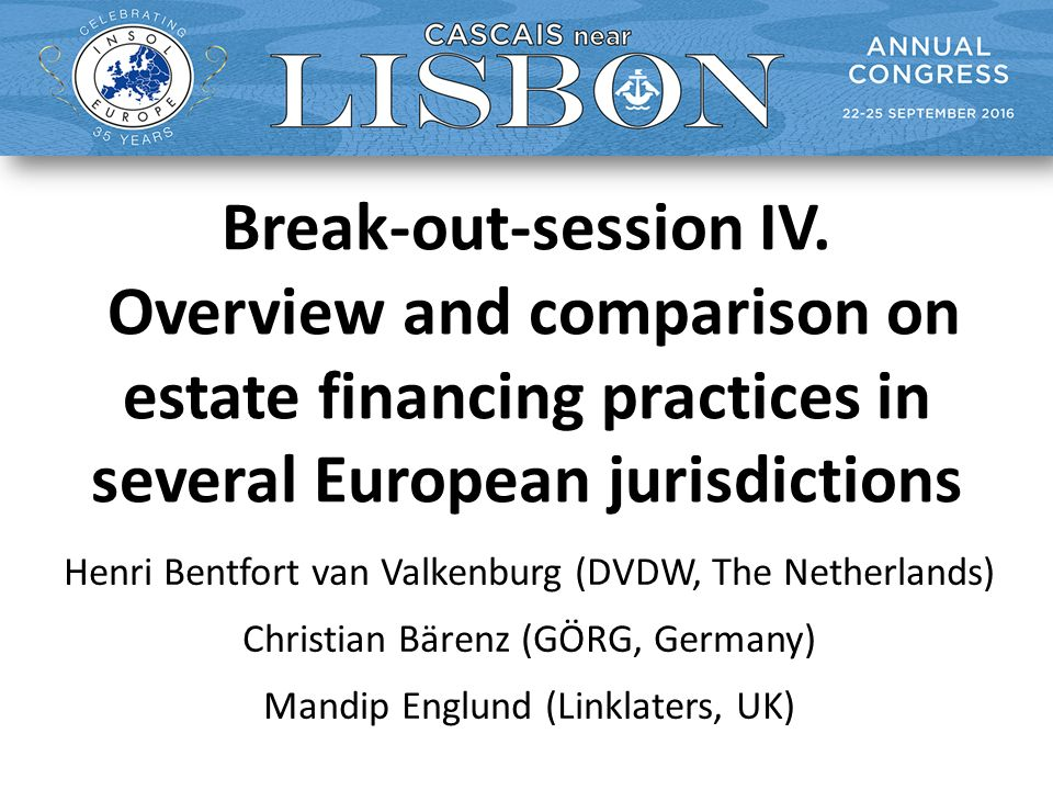 Break-out-session IV.