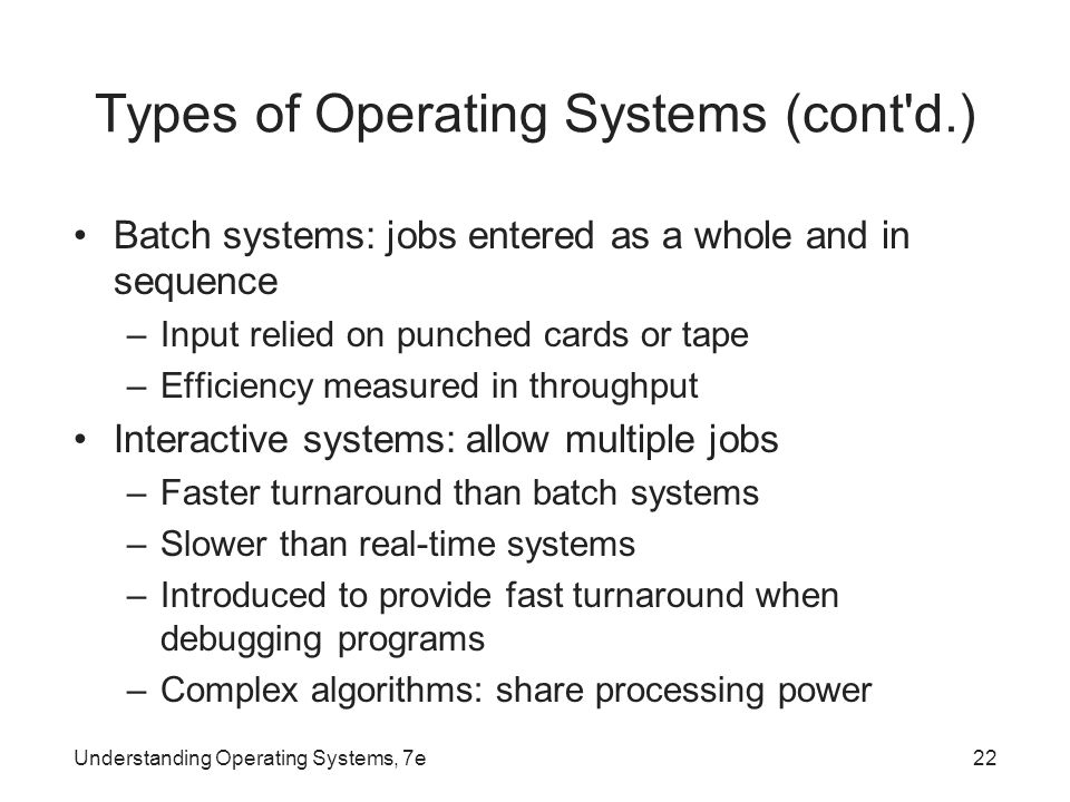 understanding operatings system chapter 1 Chapter 1 introducing operating systems by: operating system ppt operating system concepts pp chapter 7 bankruptcy: understanding the basics.