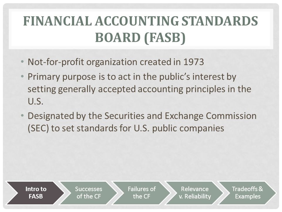 an introduction to the governmental accounting standards board and financial accounting standards bo Accounting and financial an overview of governmental accounting and financial reporting the governmental accounting standards board.