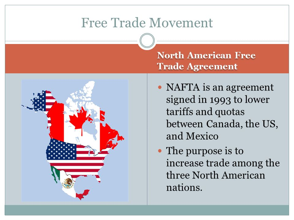 an overview of the north american free trade agreement nafta and its mandate Content and media associated with north american free trade agreement.